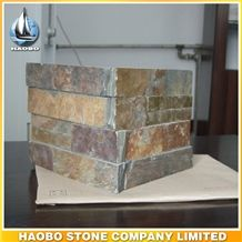 Wholesale Thin Stacked Veneer Cultured Stone Brick for Exterior Wall Decoration Slate