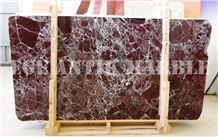 Rosso Levantino, Rosso Levanto Marble Tiles & Slabs, Red Polished Marble Floor Tiles, Wall Tiles