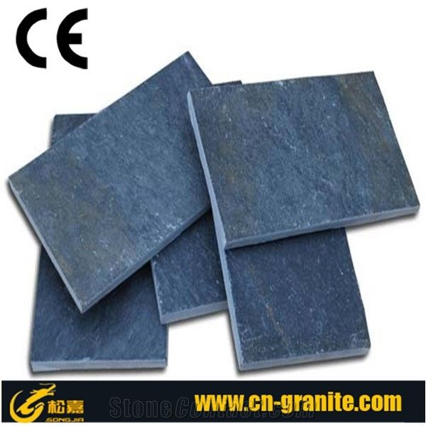 Dark Grey Slate TilesNatural Slate Floor Tiles 15 2cm Thick