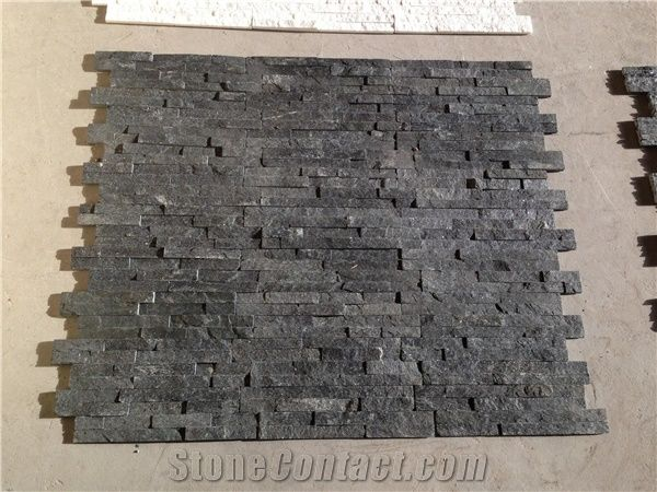 Decorative Natural Stone China Black Slate Outdoor Stone