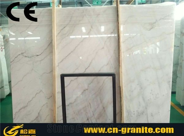 Pure White Marbleguangxi White Marble Slabs Tilescheap Marble