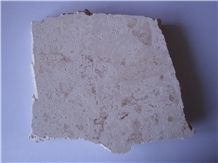 Honed White Coral Stone Tiles