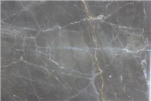 OLIVE MARON marble tiles & slabs, grey marble polished tiles & slabs