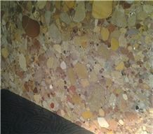 Marinace Marble,Imperial Rose, Red Conglomerate