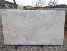 Dolce Vita Quartzite Tiles & Slabs, White Polished Quartzite Tiles & Slabs