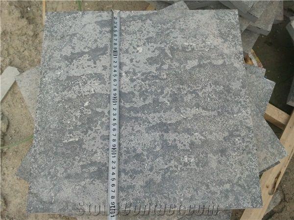 China Bluestone Tiles Slabs,Flamed Finish Floor Tiles,Floor