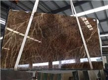 China Golden Brown Onyx Tile & Slab for Wall Floor