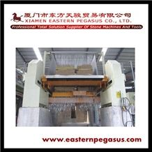 Gang Saw for Marble, 80 Blades Gang Saw for Marble, Marble Gangsaw, Multi-Blades Marble Gang Saw, High Quality Gang Saw for Sale, Marble Gangsaw Cutting Machine, Marble Slab Cutting Machine Tjsh-80