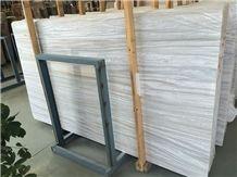 Greek Wooden White Vein Grey Marble Slabs & Tiles, Greece Grey Marble