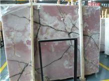 Pink Onyx Slabs, China Pink Onyx