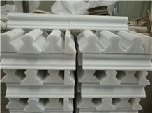 Pure White Marble Molding