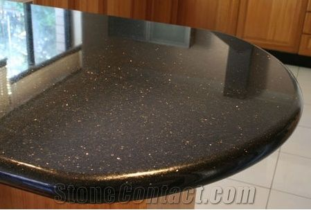 black galaxy granite table tops kitchen island tops from india. Black Bedroom Furniture Sets. Home Design Ideas