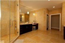 Bamboo Screen, Jerusalem Gold Limestone Tiles & Slabs, Bani Naim Limestone, Yellow Limestone Floor Tiles, Wall Tiles