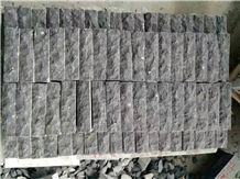 China Shandong Blue Limestone Mushroom Wall Blocks Stone Competitive Prices