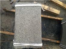 Flamed Yixian Black Granite Floor Tile