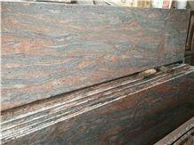 Multicolor Red Granite Tiles, India Red Granite
