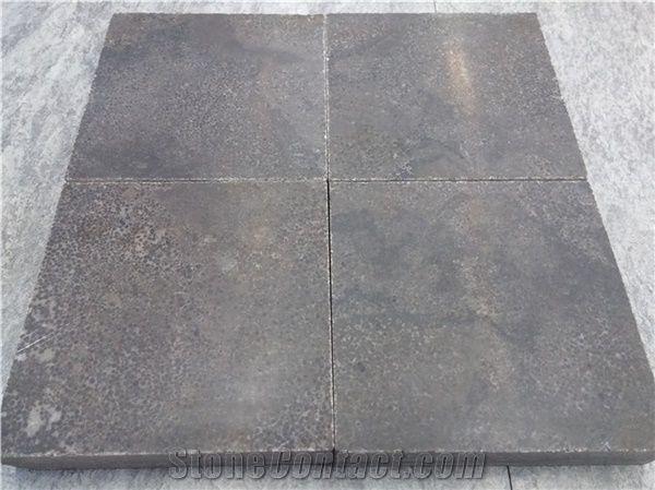 China Blue Stone Tiles Slabs Bluestone Flooring Outdoor Pavers