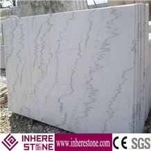 China Carrara White Marble Tiles & Slabs, Guangxi White Marble, Carla White, Ivory Jade Marble Stone