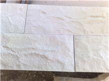 Qabatiya White Split Natural Stone - Tobzeh