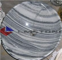 Gray Marble Sink,Lm-03