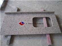 Rosa Porrino Countertop, Pink Granite Kitchen Countertop