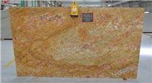 Imperial Gold/ Golden Oak/ Kashmiri Gold-Full Slabs-339x197-20mm