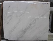 China Alaska Pure White Marble Polished Natural Stone Tiles & Big Slabs, Overlord Flower Marble Manufacturer,Quarry Owner,Floor&Wall Cover