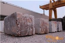 China Red Marble Blocks with Large Quantity from Ice Stone