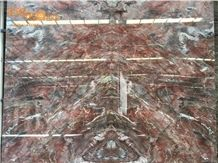 China Venice Red Bookmatched Marble/Ice Stone/Marble Opus Romano/Marble Versailles Pattern/Marble Opus Pattern/Marble Floor Covering Tiles/Marble Tiles & Slabs/