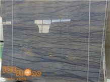 Highly Polished Blue Quartzite Azul Imperial Quartzite Slabs & Tiles