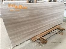 Ice Stone China White Wood/Light Grey Wood/ Marble French Pattern/Marble Wall Covering Tiles/ Marble Skirting/ Marble Floor Covering Tiles/White Serpenggiante/Marble Tiles & Slabs/