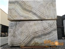 Large Quantity China Beige Onyx Block with Perfect Transpancy from Ice Stone,Own Quarry, Good Quality,White Wooden Popular Onyx with Competitive Price