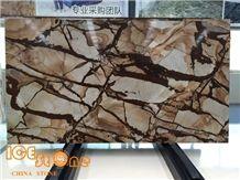 Quartzite Slabs&Tiles, Stone Wood Quartzite/Blue Mare Quartzite Stone