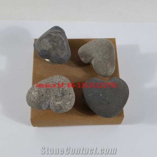 River Rock Stone Furniture Knobs /Stone Cabinet Knobs /Stone Door Knobs