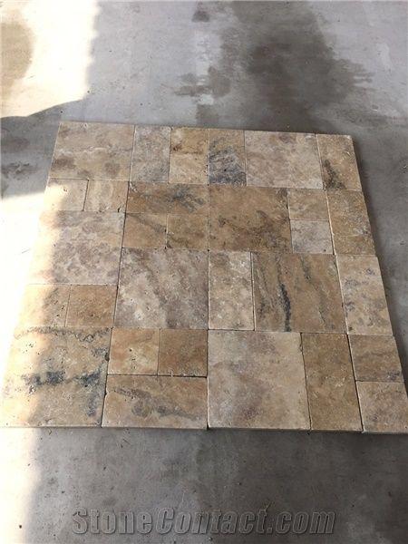 Antique Philadelphia Travertine Tile Tumbled