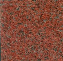 China Qingshan Red Granite Thin Slabs Red Granite Floor Covering Cheap Customer Size Pavement Stone