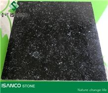Chinese Black Granite with White Spots Yuexi Black Granite Wall Covering Black Granite Slabs Black Granite with Copper Color Back Granite Flooring Black Granite Skirting Polished Granite Tiles Cheap