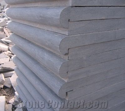 Chinese Bluestone Pavers Pool Coping Floor Tiles Blue