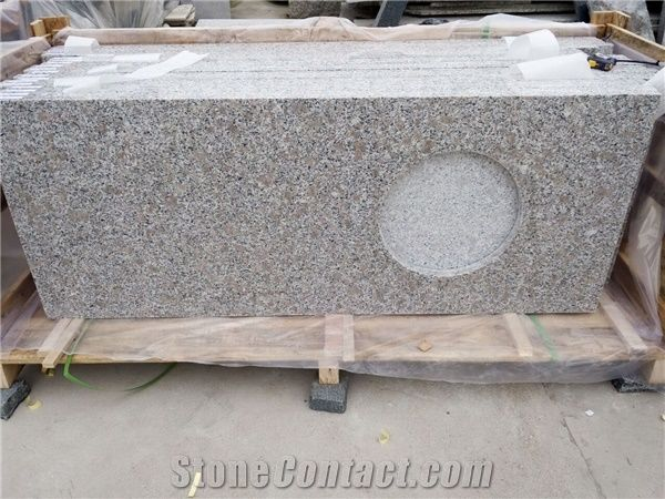 G383 types cheap grey granite natural stone type and Types of countertops material