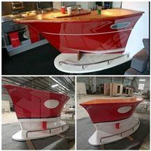 Elegant Artificial Stone Kitchen Countertop Home Boat Bar Counter Top