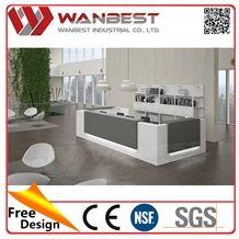 New Style Artificial Stone Used Reception Desk Salon Reception Desk Hot Sale