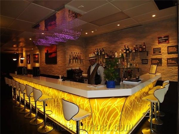 Restaurant Commercial Cafe Bar Counter Design