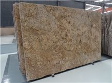 Own Factory Lowest Price Brazil Golden Persa/Amarelo Persa/Persa Gold/Cream Persa/Giallo Palmeiras Granite Slabs & Tiles & Cut-To-Size,Yellow Granite for Flooring and Walling