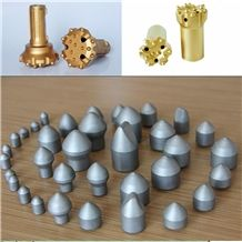 Tungsten Carbide Button Bits High Wear Resistances and High Quality
