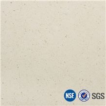 Manufacturer Classical Cream Beige Marble Look Quartz Stone Engineered Stone Tiles Slabs for Customized Edges -V15