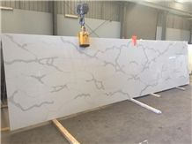 Nsf Sgs Quality Manufacturer Bianco Calacatta Marble Look