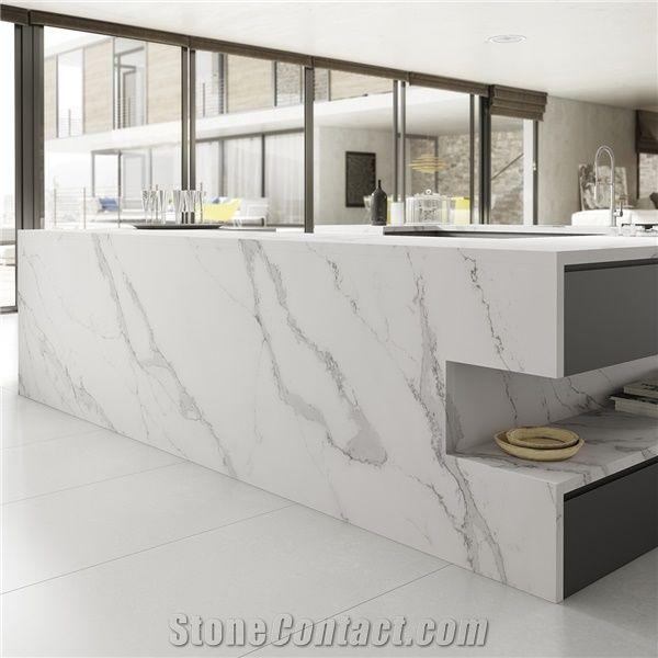 Bianco Calacatta Marble Look