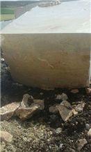 Golden Crema Marble Block