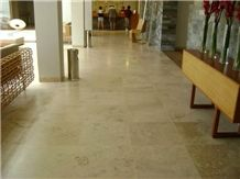 Junin Travertine Peruvian Travertino Tipo Navona Honed Floor Tiles