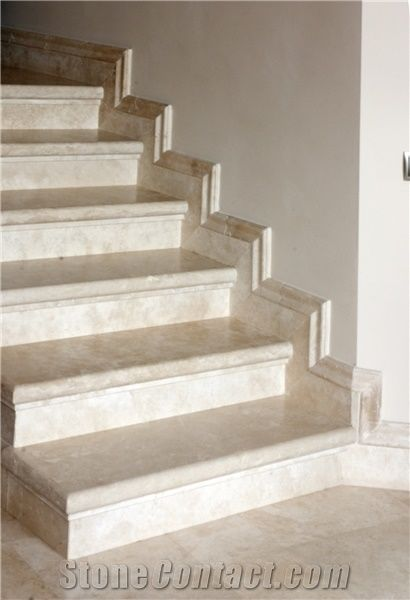 Gentil Botticino Royal Marble Stairs, Steps